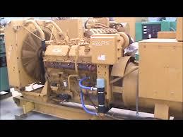 caterpillar 3412 dit 500kw 480v open diesel generator set youtube