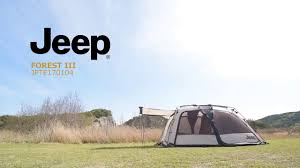 jeep renegade tent jeep tent forestiii setup video youtube