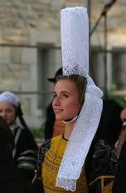 vire costumes normandy basse normandie calvados coiffe de vire