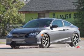 honda civic coupe 2017 2017 honda civic si coupe first sighting 2016 honda civic