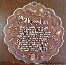 vintage my kitchen prayer plaque wall hanging gifts