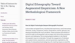 how to write a mini research paper research digital ethnography article in jdh bywendy hsu