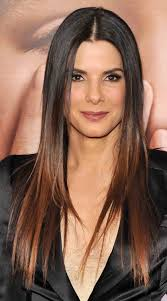 sandra bullock square brow bone cheekbone and jaw line are