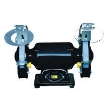 steel grip 2 1 amp bench grinder sbg 150b benchtop