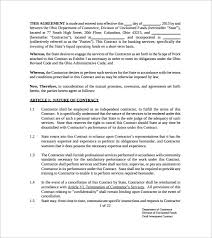 sample investment contract template how to write an interior