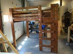 Twin Loft Beds Plans by Twin Loft Bed Made From Plans Available Here Http Www