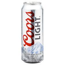is coors light a rice beer coors light beer 24 oz meijer com