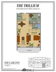 trillium floor plan the trillium london ontario drewlo holdings drewlo holdings