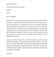 sle thank you for your business letter 9 documents in pdf word