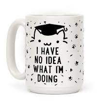 graduation mugs graduation cat tired of asking what you re doing after