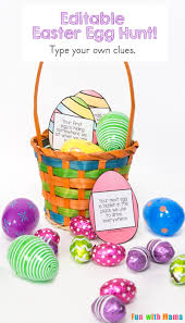 easter egg hunt ideas editable easter egg scavenger hunt fun with mama