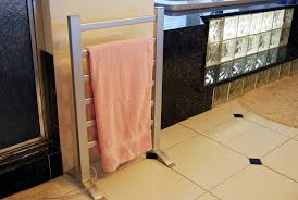amazon com lcm home fashion 6 bar freestanding towel warmer