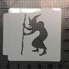 witch stencil 102