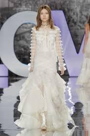 high to low wedding dress 20 high low wedding dresses from bridal fashion week brides