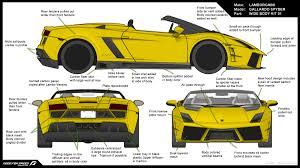 lamborghini gallardo blueprint vehicle design mike design