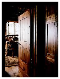 Knotty Alder Interior Door by Cowboy Rustic Interior Door Square Top Rail 2 Panel Random Plan