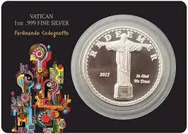 kilver silver coins vatican coincards coin cards collections