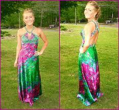 madeline dawson night moves peacock print prom dress prom 2011
