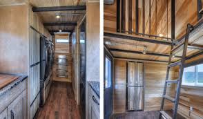 this huge u0027tiny house u0027 on wheels can fit a family of five