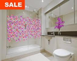 shower door decals etsy