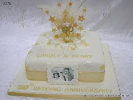 golden wedding anniversary cake http www cakescrazy co uk