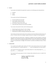 consulting agreement example business retainer agreement sample