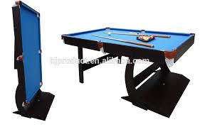 7ft pool table for sale mdf collapsible pool table bule wool felt folding up billiard table