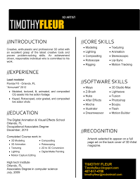 Resume Format For Advertising Agency Art Resume Format Resume Cv Cover Letter