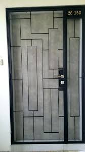 Front Door Security Gate by It Is Not Just Front Door Gate Metal Security Gates House House