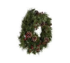 New Year Decorations Argos by Buy Berry And Pine Cone Christmas Wreath At Argos Co Uk Your