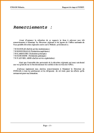 rapport de stage 3eme cuisine lettre de remerciement stage 3eme modele so39 jornalagora