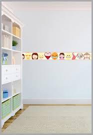 vinyl wall border decals unique ideas modern kitchen wallpaper