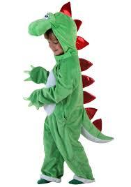 child green dinosaur w red spikes
