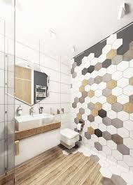 bathroom wall and floor tiles ideas 39 stylish hexagon tiles ideas for bathrooms digsdigs