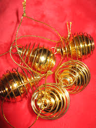 gold wire christmas tree christmas lights decoration