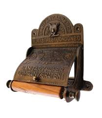 the sanitary london toilet paper holder holder old english style