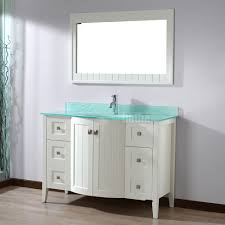 48 Inch Bathroom Vanities With Tops Studio Bathe Bridgeport 48 Inch White Bathroom Vanity Mint Green