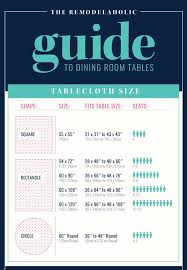 Dining Table Sizes 21 Best Tablecloth Measurements Images On Pinterest Tablecloths