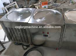 liquid nitrogen ice cream machine fried ice cream roll machine