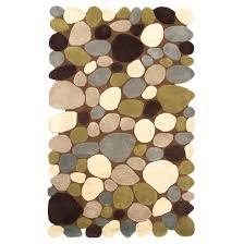 Mini Pebble Wool Jute Rug Pebble Rugs Target
