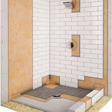 schluter kerdi shower kit contractors direct