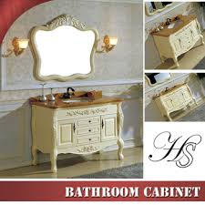 Ready Made Bathroom Cabinets by Bathroom Vanity Design Washbasin With Solid Wood Cabinet Ready
