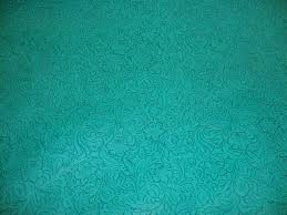 Upholstery Fabric Faux Leather Turquoise Laredo Embossed Floral Faux Leather Vinyl Upholstery