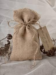 burlap gift bags favor bags