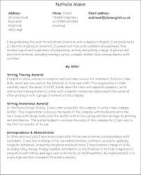 How To Write Skills On A Resume How To Write Application Letter University Writing Research Paper
