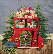 Vintage Ford Truck Fabric - advent calendar pickup truck pickup truck cupcake holder vintage
