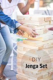 Backyard Jenga Set by How To Diy A Large Jenga Game Large Jenga Jenga Game And Jenga
