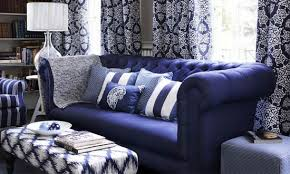 fabrics and home interiors indigo blue and denim for your home