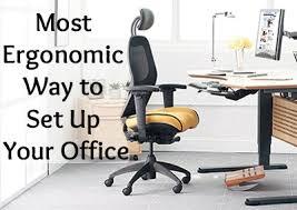 delighful ergonomic computer desk setup legs neck problemseye