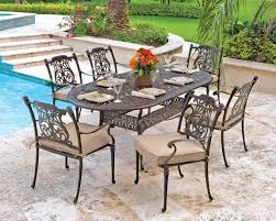 eye x rectangle cast table carlsbad sling aluminum patio furniture